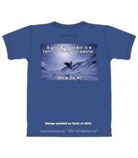 Good Mountain - Ski T Shirt by the Mountain Life