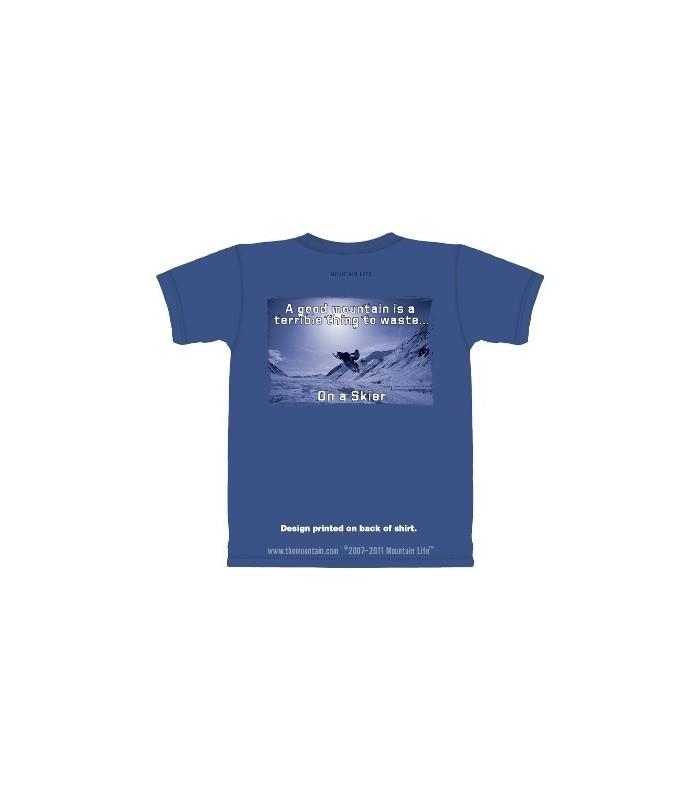 Belle Montagne - T-Shirt Ski par The Mountain
