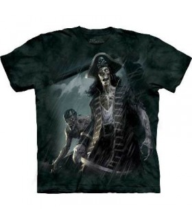 Zombie Captain - Dark Fantasy T Shirt by the Mountain