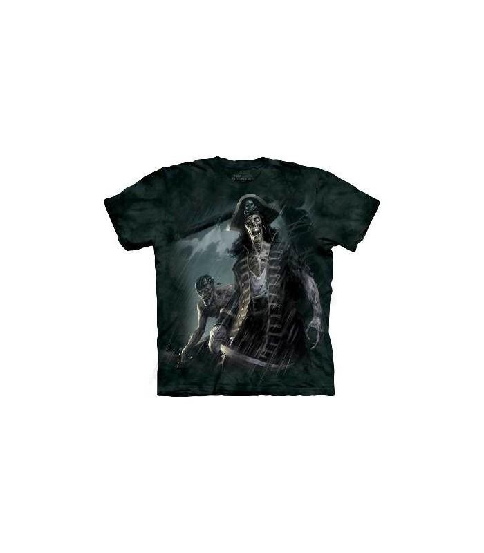 Zombie Captain - Dark Fantasy T Shirt by the Mountain