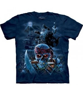 Zombie Pirates - Fantasy Shirt Mountain