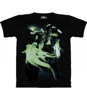 T-Shirt Zombies et Fantômes (Glow) par The Mountain