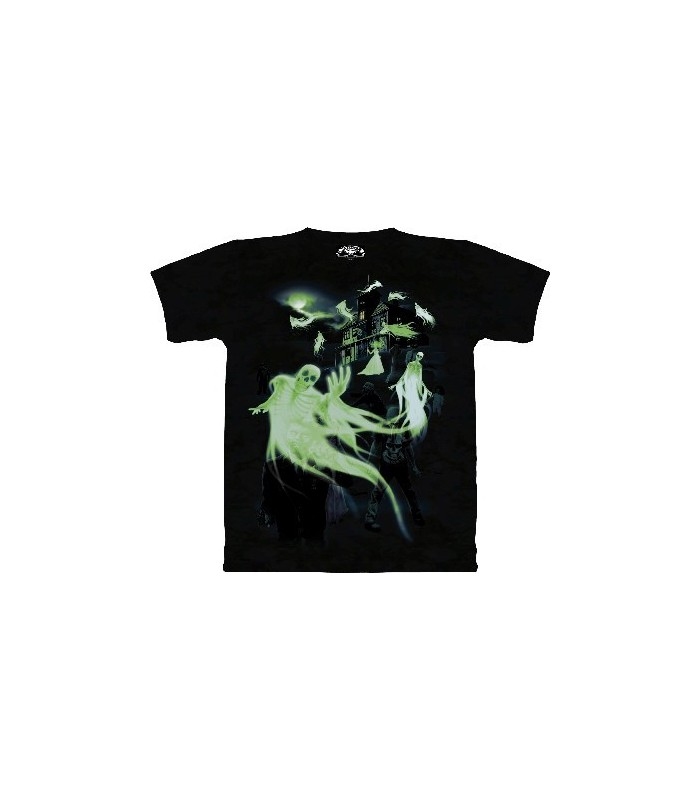 Zombies and Ghosts (GLOW) - T Shirt by the Mountain