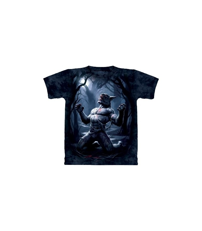 Transformation - T-Shirt Loup-Garou par The Mountain