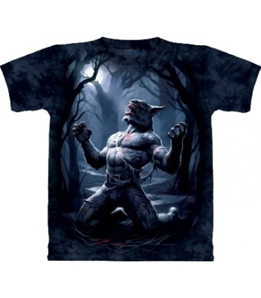 Transformation - T-Shirt Loup-Garou par The Mountain