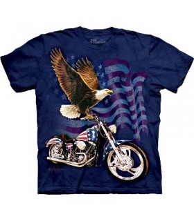 T-Shirt Born To ride par The Mountain