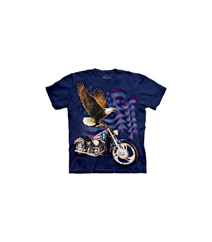 T-Shirt Born To ride par The Mountain