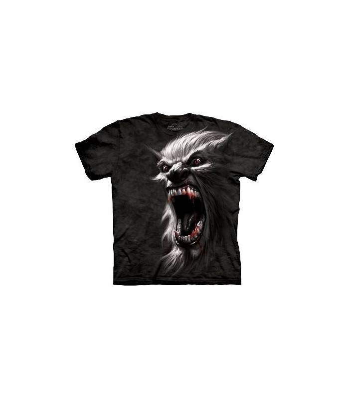 T-Shirt Cri de guerre du Loup-Garou par The Mountain