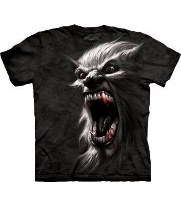 Werewolf Battlecry - Fantasy T Shirt by the Mountain