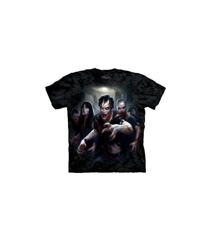 Zombie Apocalypse - Dark Fantasy T Shirt by the Mountain