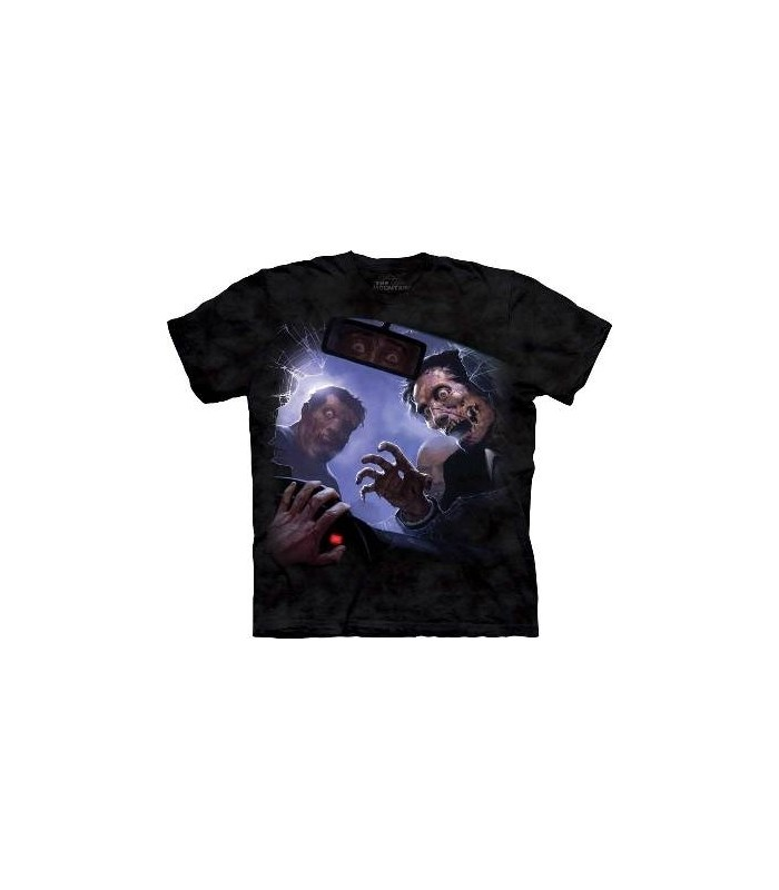 Zombie Crash - Dark Fantasy T Shirt by the Mountain