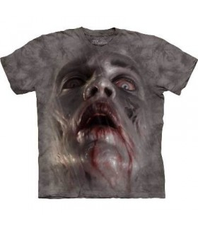 T-Shirt tête de Zombie par The Mountain