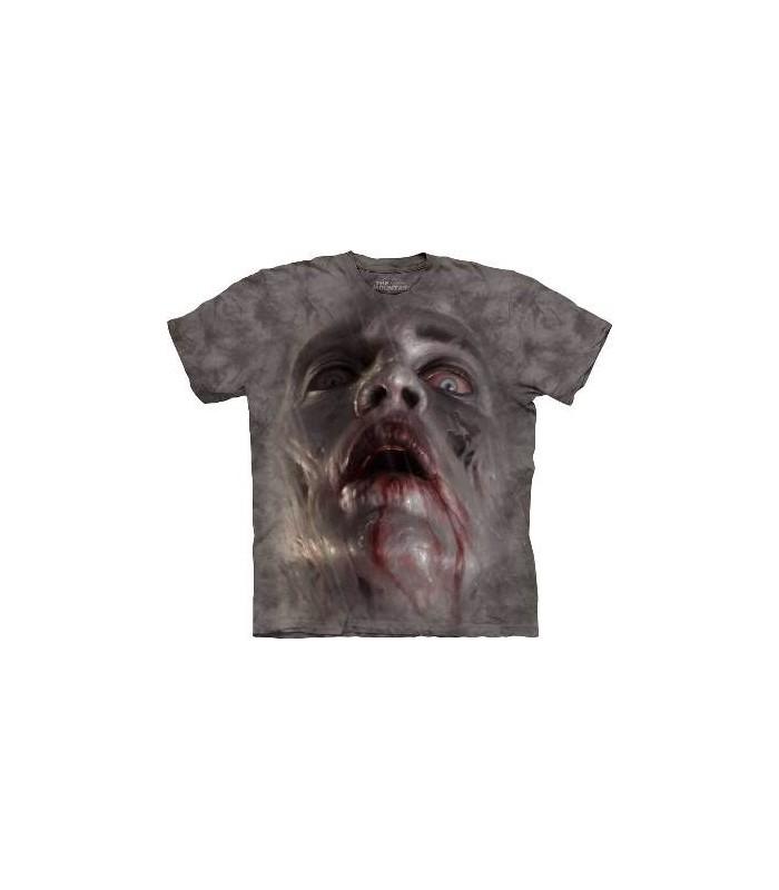 T-Shirt tête de Zombie par The Mountain