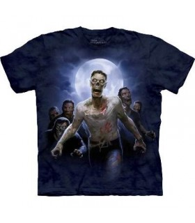 Zombie Horde - Monster T Shirt by the Mountain