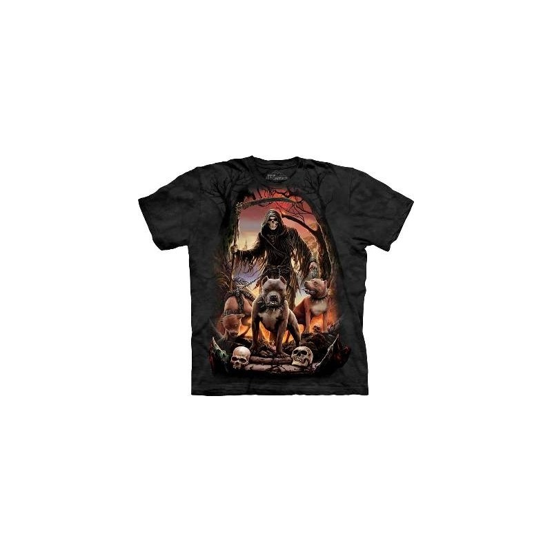 Death's Pack - Gothic T Shirt by the Mountain