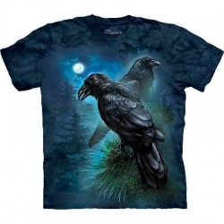 Ravens - Gothic Birds T Shirt by the Mountain