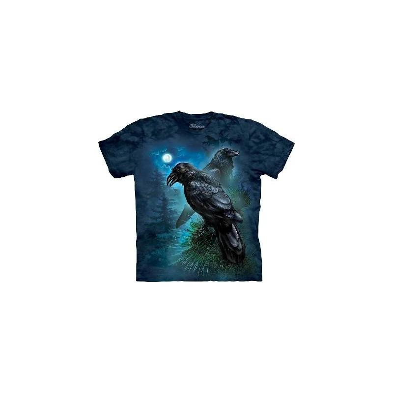 Corbeaux - T-shirt Gothique par The Mountain