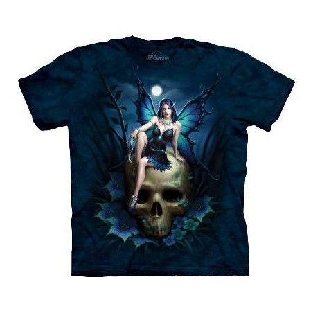 Skull Fairy - Gothic T Shirt by the Mountain