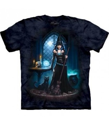 Witch's Lair - Fantasy T Shirt by the Mountain