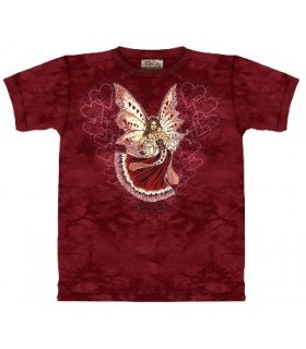 Hearts - Fairy T Shirt by the Mountain