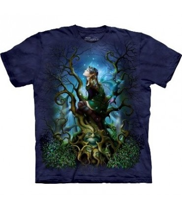 Morelle Noire - T-shirt Fée par The Mountain