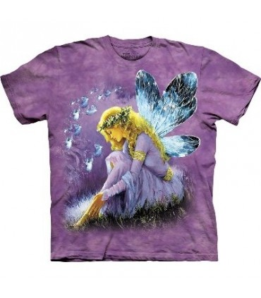 T-Shirt Fée ailée Violette par The Mountain