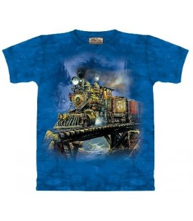T-Shirt western Haulin' ore par The Mountain