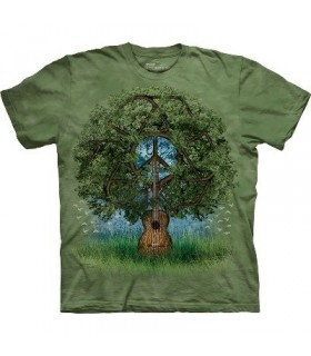T-Shirt Arbre Guitare par The Mountain