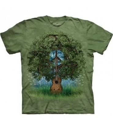 T-Shirt Arbre Guitare par The Mountain