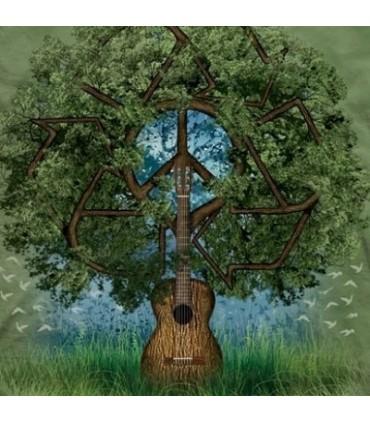 Guitar Tree Organic T Shirt from The Mountain