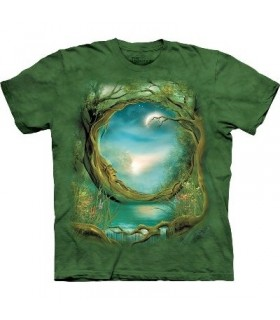 Moon Tree - Fantasy Shirt The Mountain