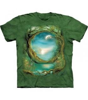T-Shirt Arbre Lune par The Mountain