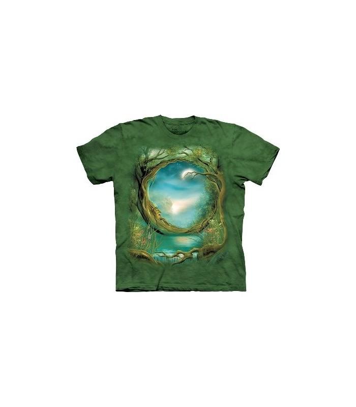 Moon Tree - Fantasy Shirt The Mountain