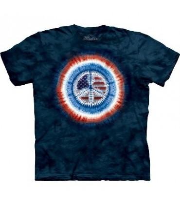 Peace Flag - Inspirational Shirt Mountain