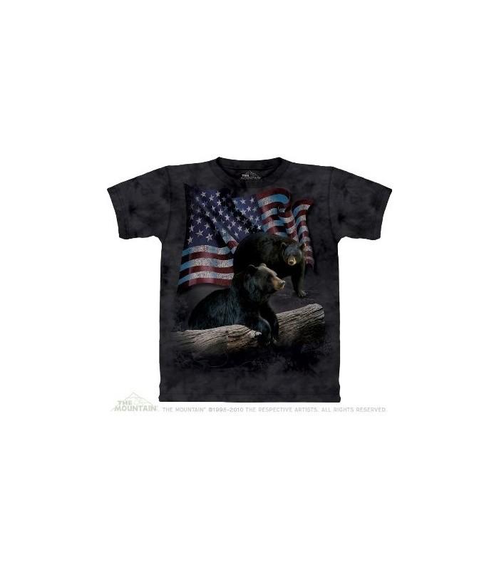 T-Shirt Bear Flag par The Mountain