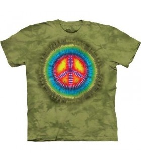Paix Tie-Dye - T-Shirt Inspiration par The Mountain