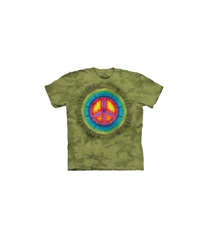Paix Tie-Dye - T-Shirt Inspiration par The Mountain