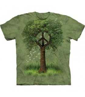 Roots of Peace - Nature Shirt Mountain
