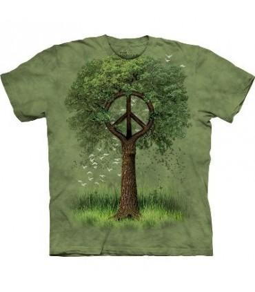 Racines de la Paix - T-shirt nature par The Mountain