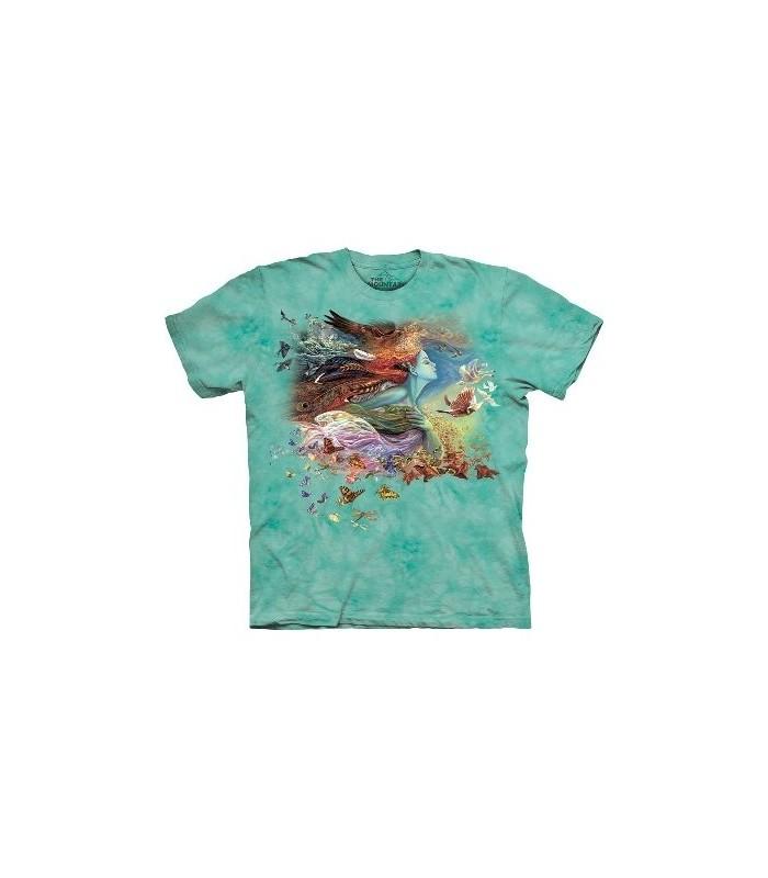 Esprit de Vol - T-Shirt Inspiration par The Mountain