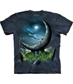Lune de Pierre - T-shirt Métaphysique par The Mountain