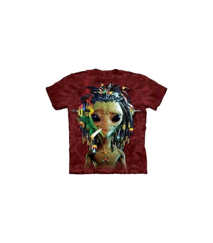 Alien Jammin - T-shirt Science Fiction par The Mountain