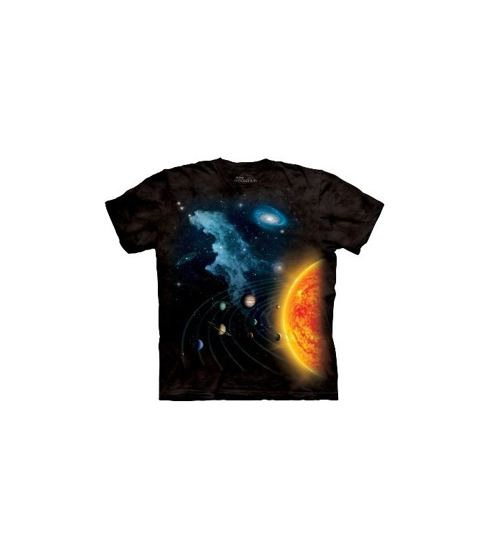 Solar System - T Shirt by the Mountain