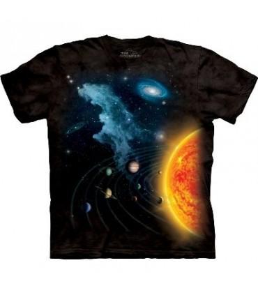 T-Shirt Système Solaire par The Mountain