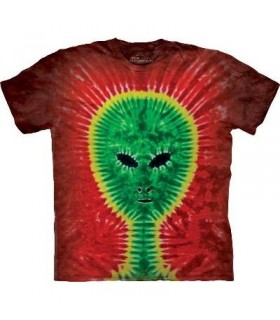 T-Shirt Alien Tie-Dye par The Mountain