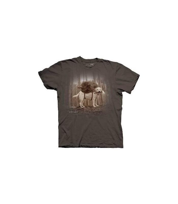 Laberjack - T-shirt Chien par The Mountain