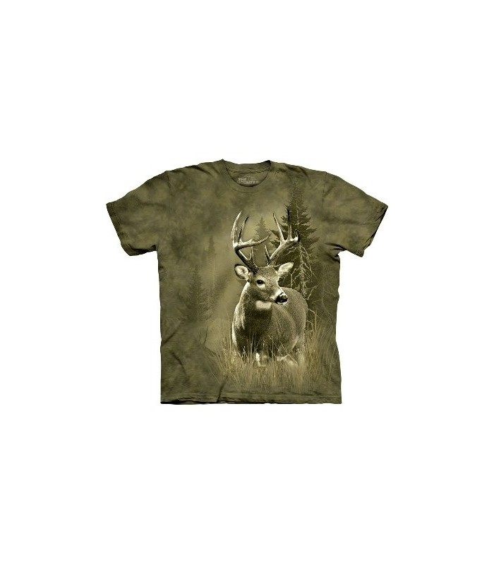 Lone Buck - Animals T Shirt by the Mountain