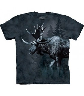 Moose - Animals T Shirt by the Mountain