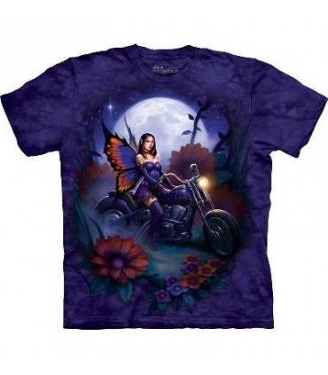 Fairy Biker - Fantasy T Shirt by the Mountain