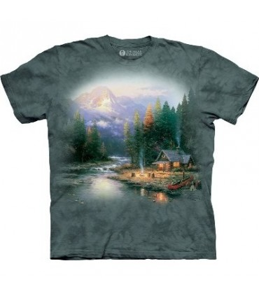 The End of a Perfect Day II - Landscape T Shirt the Mountain